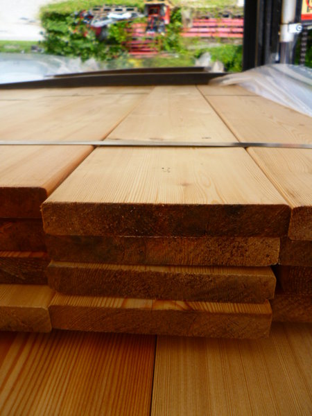 Sib Lärche Bretter Gehobeltgefast 21 X 142 Mm X 6 M Holz Allesch