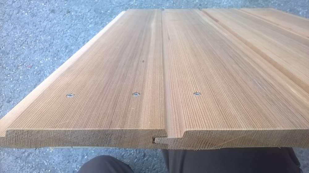Western Red Zedar 18 X 144 U Profil Holz Allesch