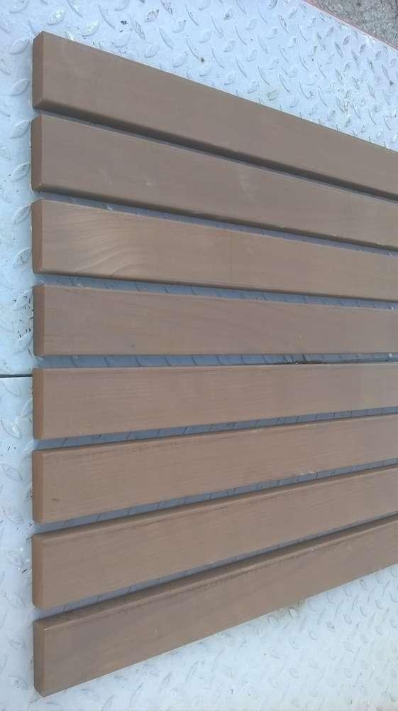 Thermoholz Fassade Sichtschutz Zaun Möbelholz 26 X 73 Mm Allesch